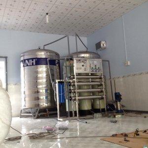 Lắp đặt dây chuyền lọc nước tại Tam Nông, Đồng Tháp