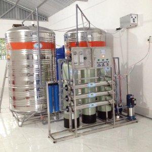 Lắp đặt dây chuyền lọc nước tại TT Rạch Gòi, Châu Thành A, Hậu Giang