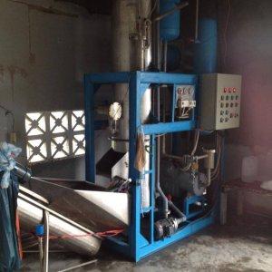 Lắp đặt dây chuyền máy đá viên tinh khiết tại Tu Bông, Vạn Ninh, Khánh Hòa