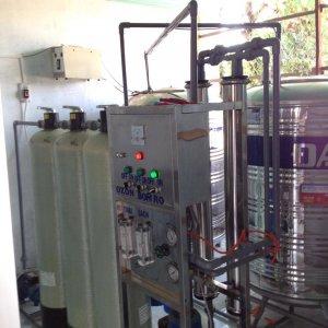 Lắp đặt dây chuyền lọc nước tại Hàm Thuận Nam, Bình Thuận