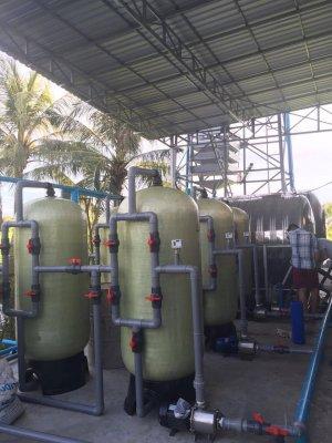 Lắp đặt Dây chuyền lọc nước 400 khối/ngày tại Kang PongCham, Campuchia