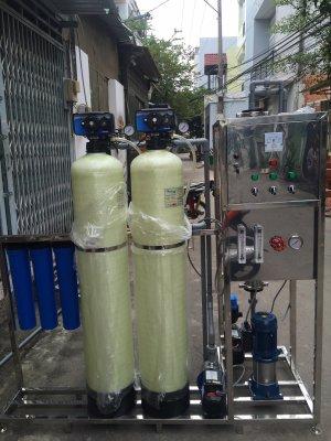 Dây chuyền lọc nước, hệ thống lọc nước đóng bình lắp đặt tại TT Liên Hương, Tuy Phong, Bình Thuận