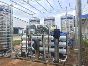 Dây chuyền lọc nước xử lý nước mưa KCN Đồng Phú, Bình Phước
