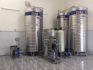 Dây chuyền lọc nước, hệ thống lọc nước đóng bình lắp đặt tại Thôn Thọ Vức, Tuy Hòa, Phú Yên