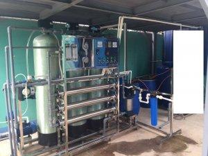 Dây chuyền lọc nước, hệ thống lọc nước đóng bình lắp đặt tại Xã Thái Yên, Nghi Xuân, Hà Tĩnh