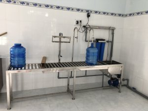 Dây chuyền lọc nước lắp đặt tại Cầu Kè, Trà Vinh