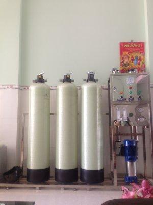 Lắp đặt dây chuyền lọc nước tại Khu Công Nghiệp Long Thành, Đồng Nai