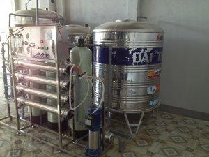 Lắp đặt dây chuyền lọc nước tại Ninh Hải, Ninh Thuận