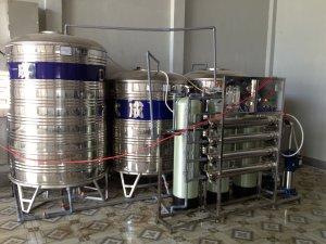 Lắp đặt dây chuyền lọc nước tại Quy Nhơn, Bình ĐỊnh