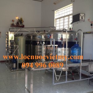 Lắp đặt dây chuyền lọc nước tại Nghị Đức, Tánh Linh, Bình Thuận