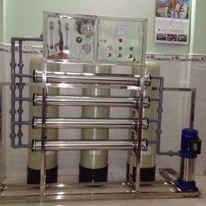 Chuyên lắp đặt hệ thống lọc nước tinh khiết đóng bình, Dây chuyền lọc nước tinh khiết đóng bình
