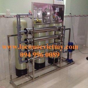 Hệ thống dây chuyền sản xuất nước tinh khiết đóng bình bao gồm những gì?