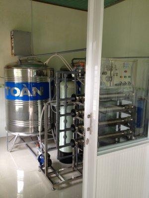Lắp đặt dây chuyền lọc nước tại TP Vị Thanh, Hậu Giang