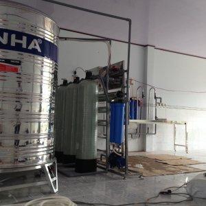 Lắp đặt dây chuyền lọc nước tại Cai Lậy Tiền Giang