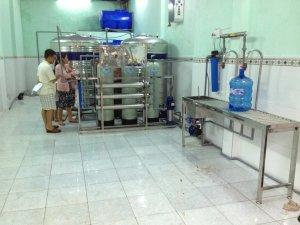 Cách Thiết kế mặt bằng xưởng lắp đặt dây chuyền lọc nước tinh khiết đóng bình