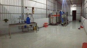 Lắp đặt dây chuyền lọc nước tại Càng Long, Trà Vinh