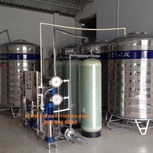 Công ty lắp đặt dây chuyền lọc nước đóng bình, hệ thống lọc nước uống tinh khiết uy tín