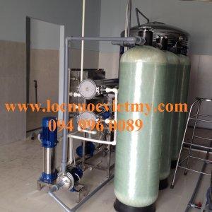 Thiết bị xử lý nước máy nhiễm mangan, sắt, Amoni. asen, kim loại nặng...