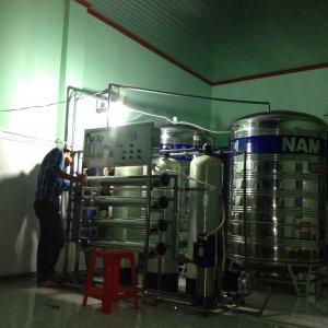 Lắp đặt dây chuyền lọc nước tại Thành Phố Kon Tum, Tỉnh Kon Tum