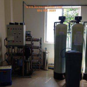 Lắp đặt dây chuyền lọc nước tinh khiết cho bệnh viện Bình Tân