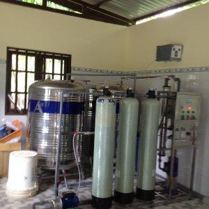Lắp đặt dây chuyền lọc nước cho Trường Đại Học Bách Khoa TP.HCM
