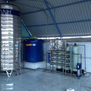 Lắp đặt dây chuyền lọc nước tại Thôn Đại Lộc, Hàm Hiệp, Hàm Thuận Bắc, Bình Thuận