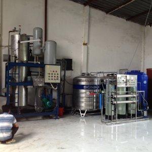 Lắp đặt dây chuyền lọc nước Phú Tân, Tỉnh An Giang