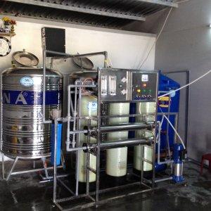 Lắp đặt dây chuyền lọc nước tại Ma'Drak, Đăk Lăk