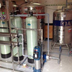 Lắp đặt dây chuyền lọc nước tại Phường 1, TP Cà Mau, tỉnh Cà Mau