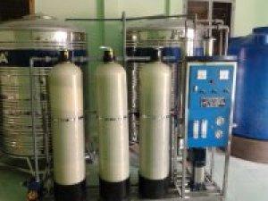 Dây chuyền nước tinh khiết đóng bình Công suất 500 lít/h tại Chợ cây Xoài Quận 2 TPHCM