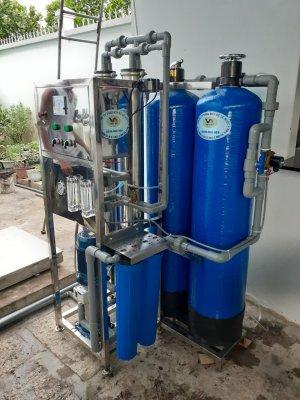 Dây chuyền lọc nước mặn, nước nhiễm mặn, nước phèn, nhiễm vôi, Nước đóng bình Tại Giồng Trôm, Bến tre