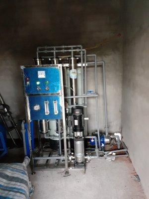 Dây chuyền lọc nước nhiễm mặn tại Cù Lao Ngũ Hiệp, Cai Lậy, Tiền Giang